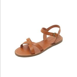 Madewell broadway sandals - sz 8.5. Worn once!